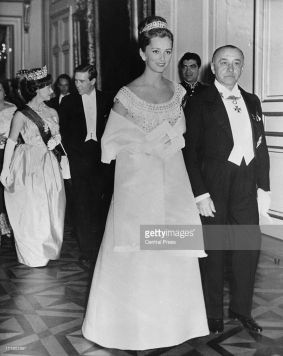 Pre-wedding celebrations King Baudouin, 14 décembre 1960, 1e fois