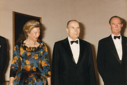 1992 01 13 French State Visit to Luxembourg 4