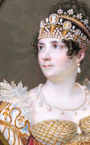 1813-1814 Impératrice Joséphine, par Ferdinand-Louis Quaglia