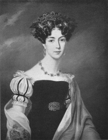 1825 Reine Josephine de Suède par Fredric Westin