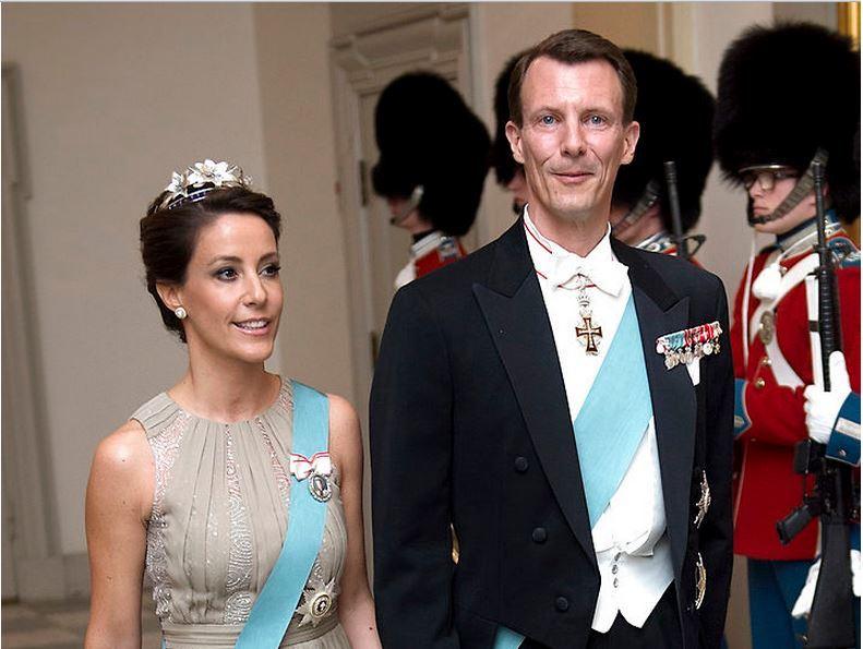 Princess Marie of Denmark's Flora DanicaTiara