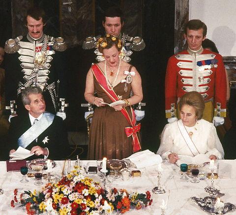 Queen Margrethe II's Golden PoppiesTiara