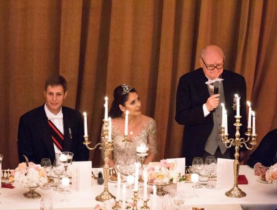 Royals von Albanien Hochzeit
