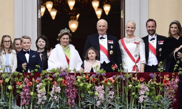 2017 05 09 80 ans du roi Harald V et de la reine Sonja de Norvège 42 Gala Dinner